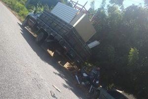 Acidente de trânsito deixa adolescente sem vida e jovem ferido no município de Sousa
