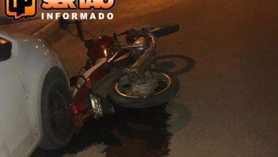 Motocicleta Oficial de Justiça recuperada pela Polícia Militar em Sousa