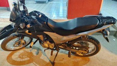 Motocicleta tomada por assalto na zona rural de Aparecida