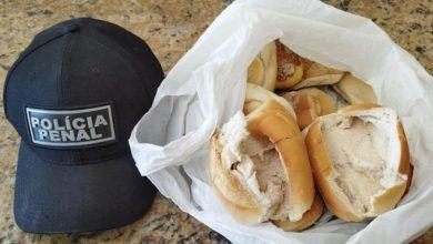 Entorpecente apreendido em pães no presídio de Patos