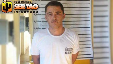 Alberto Oliveira Dantas fugitivo do Presídio Padrão em Catolé do Rocha